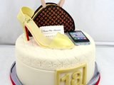 gateau_anniversaire_talon_haut_i-phone_louis_vuitton