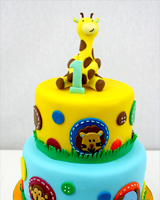 gateau_shower_bapteme_animaux_jungle
